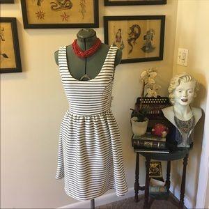 NWT Lauren Conrad striped dress